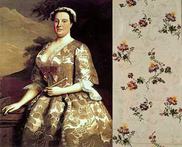 Anna-Maria-Garthwaite and some of her silk (c) Wikipedia