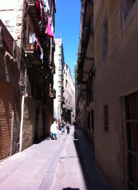 Calle Arco Del Teatro - 'more than a scar than a street' (c) thebooktrail