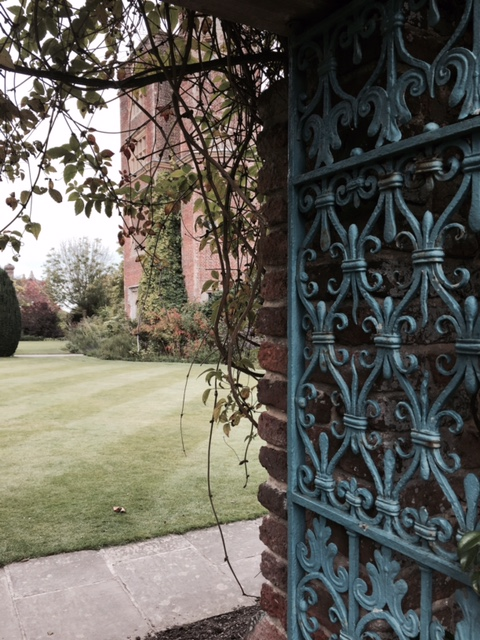 The ornate gates in the garden leading to the Distant Hours (c) TheBookTrail