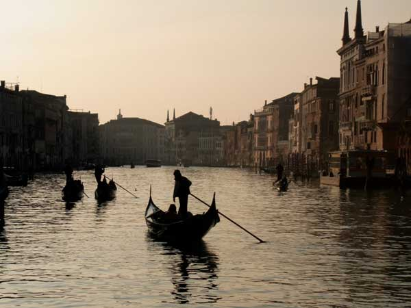 The famous Venice Grand Canal (c) David Hewson