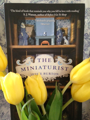 Flowers and the Miniaturist book