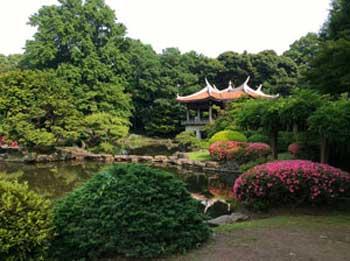 Japanese Garden by Frank Pickering