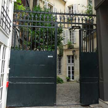 A gate in Paris
