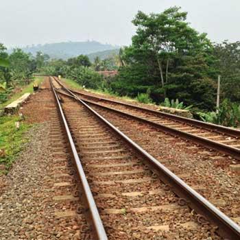 Java Train tracks