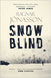 snowblind book - the cover