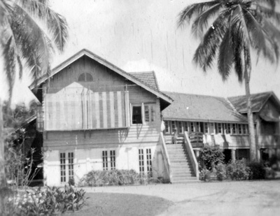 A typical malayan house where Dinah once lived