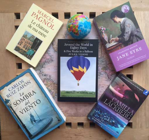 Travel the world with books