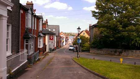 The street where Matthew Lived (c) Beth Underwood