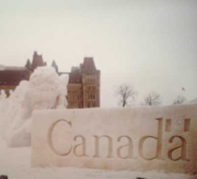 Cold Canada (C) The booktrail