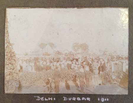 Old map of Delhi (c) Lucinda Riley