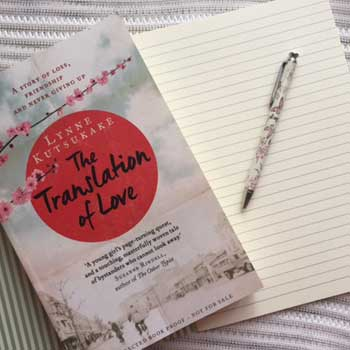 Translation of love book and letter