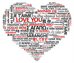Translation of love heart