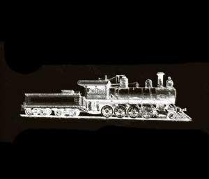 The steam train Stephen Childs