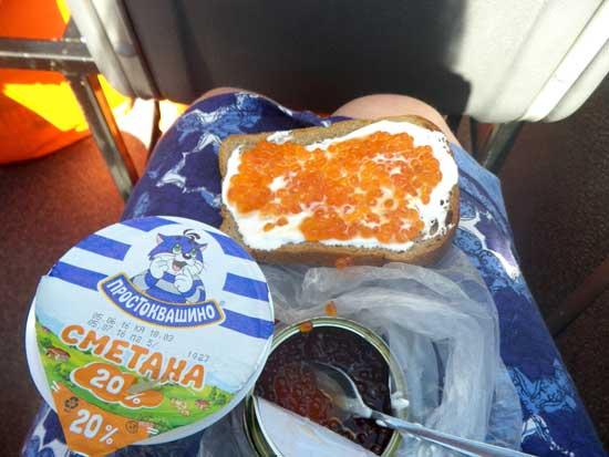A very posh picnic! (C) Gill Paul