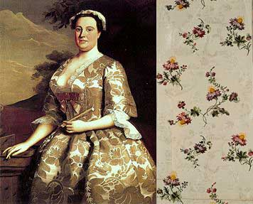 Anna-Maria-Garthwaite and some of her silk (c) Wikipedia