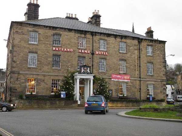 Rutland Arms Hotel Bakewell (c) Sarah Ward