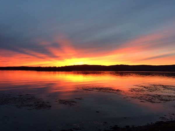 Helensburgh sunset (c) Polly Clark