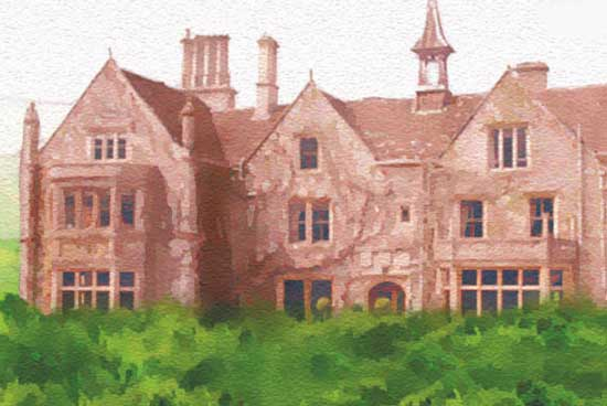 The Manor House in the novel