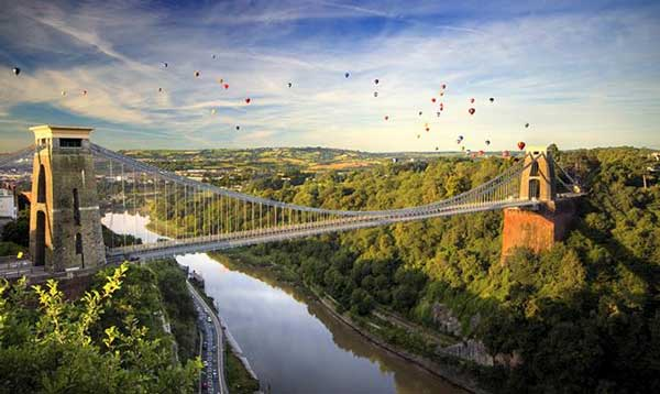 Clifton Suspension Bridge (c) Visit Bristol