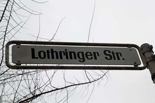 Lothringerstrasse (c) Richard Aronowitz