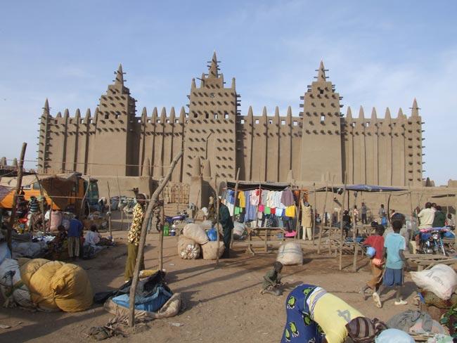 Djenne-mosque (C) Nick Jubber