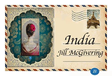 Literary postcard  - India