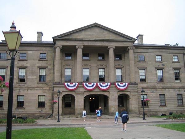 Province House, Charlottetown PEI (c) Wikipedia