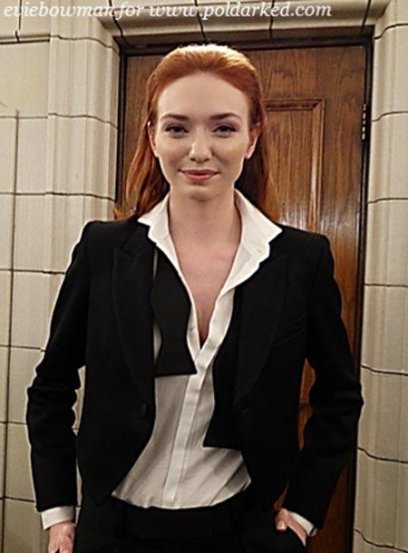 Eleanor Tomlinson (c) Evie Bowman