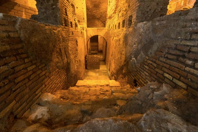 La Citta dell'Acqua on Viccolo del Puttarello - (c) archeodomani.com