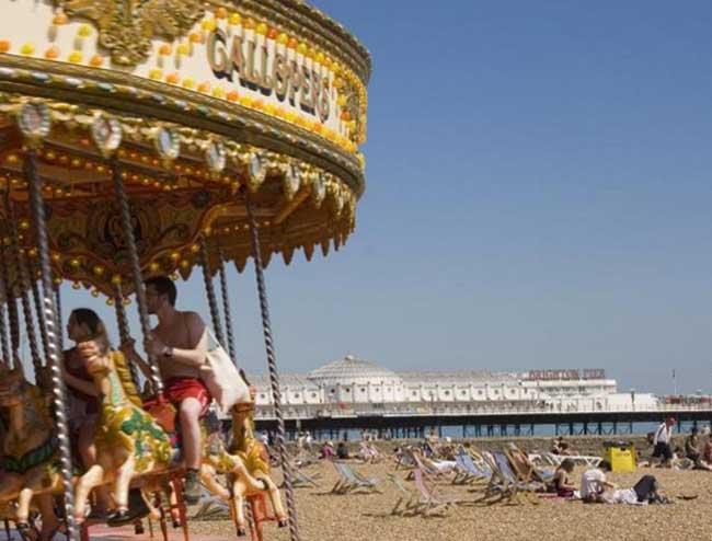 Brighton Beach  (c) Visit Brighton