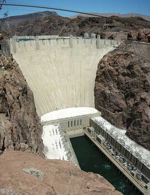 Hoover Dam, USA, Devour's climax (c) L A Larkin