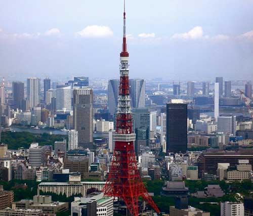 Tokyo and Tokyo tower (c) James Buckler