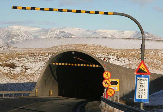 Hvalfjordur-tunnel (c) Lilja Sigurðardóttir
