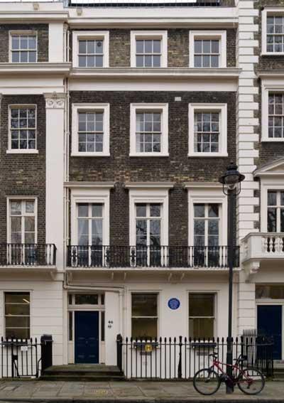 46 Gordon Square, Bloomsbury © Myrabella