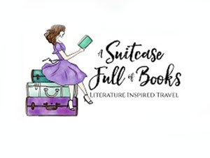 A Suitcase full of books
