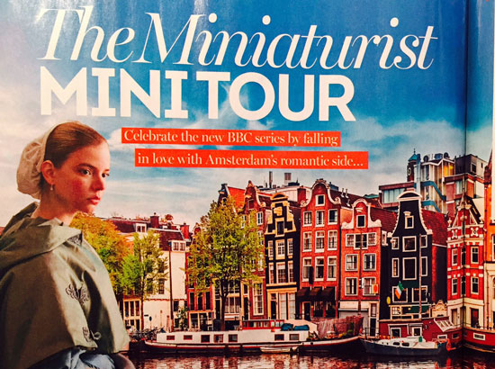 The Book Trail Travel To The Miniaturist With Jessie Burton The
