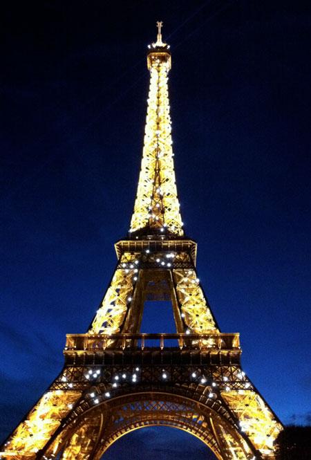 Paris at Christmas (c) The BookTrail