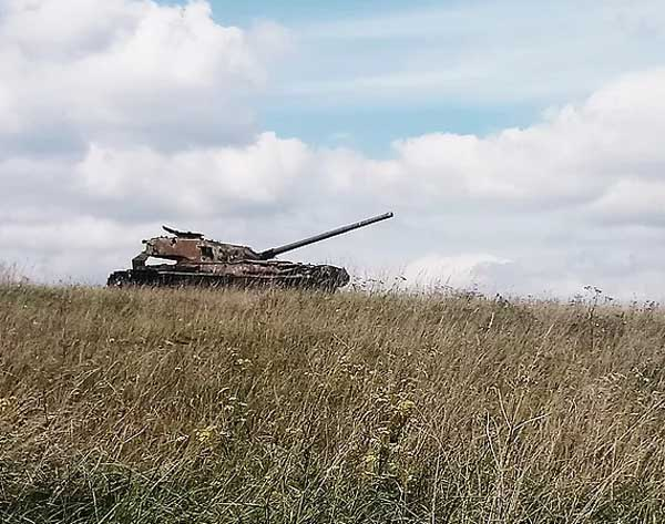Abandoned Tanks at Imber (c)The Travelling Reader