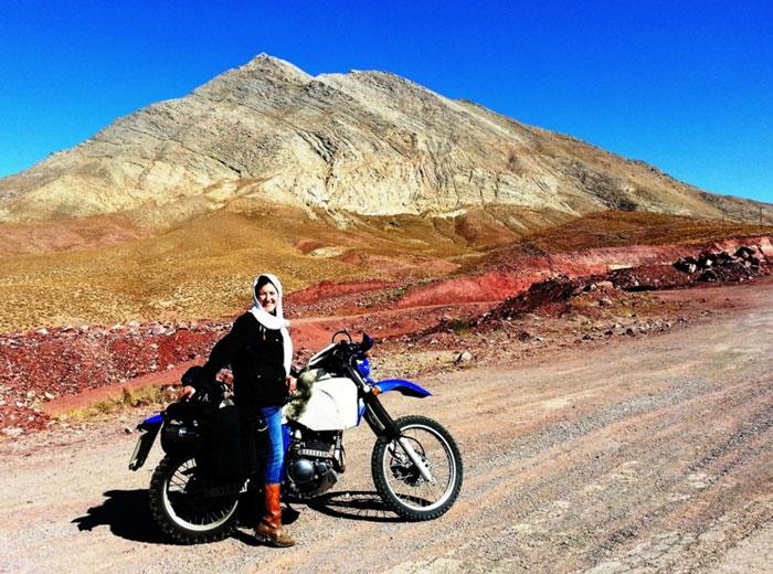 Iran adventures (c) Lois Pryce