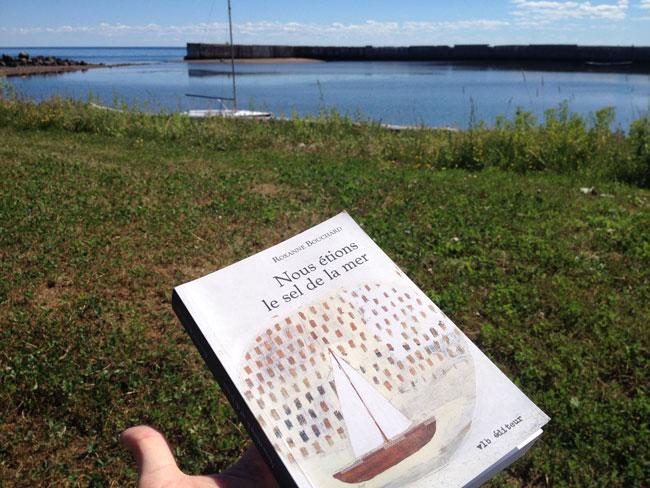 Book on location (c) David Warriner