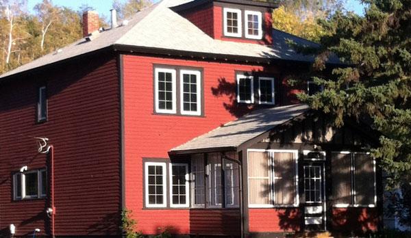Historic 1916 Foursquare house