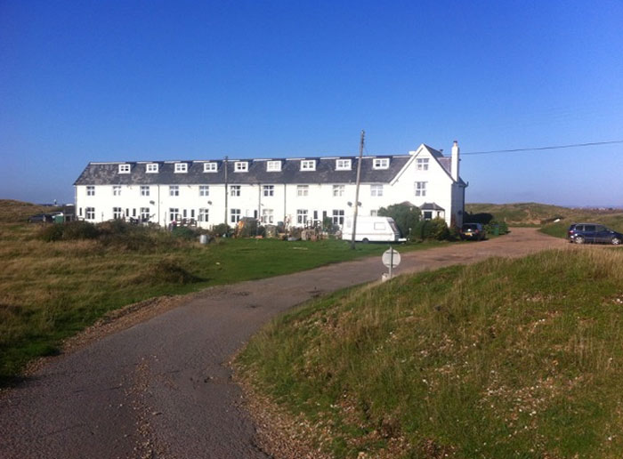 Signal cottages, Dungeness - where I imagine DS Alex Cupidi to live (c) W Shaw