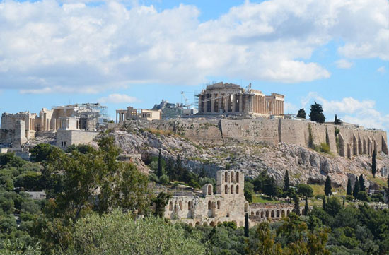 The Acropolis (c) Wikipedia