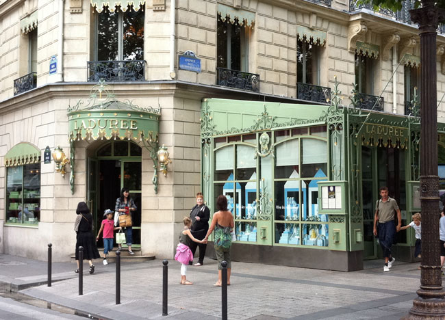 La Duree Paris, (c) TheBookTrail