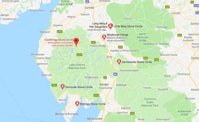 Cumbrian stone circles (c) Google