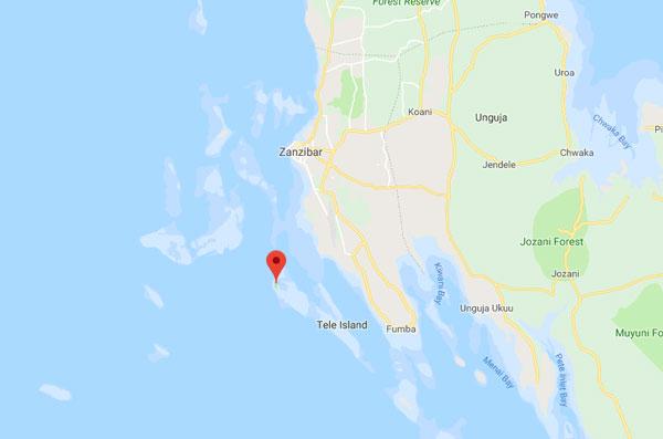 Chumbe island (c) Google maps