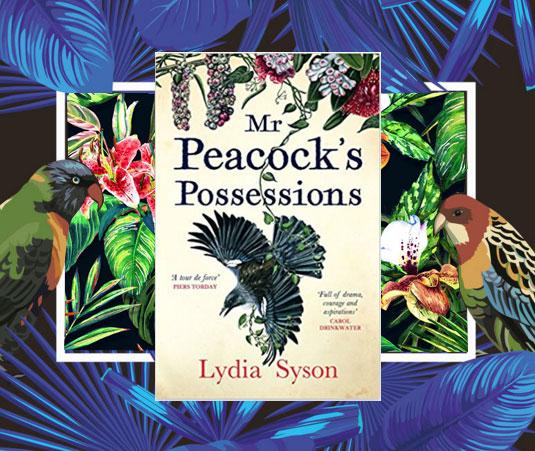 Mr Peacocks possessions