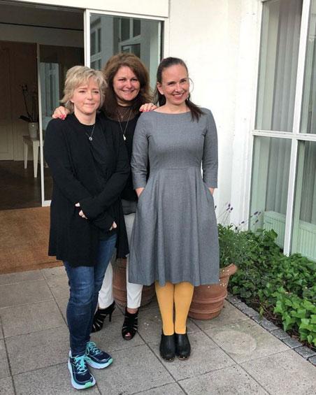 Karin, Sara and Yrsa (c) Harper Collins Nordic