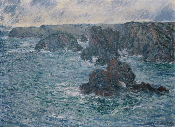 Monet's Belle Ile (c) Monet