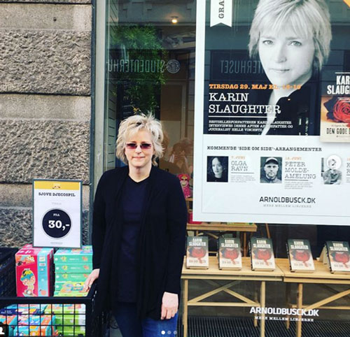 Karin Slaughter in Copenhagen (c) Harper Collins Nordic